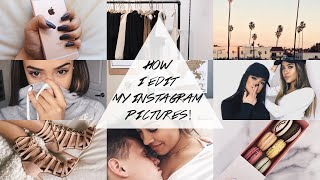 How I Edit My Instagram Pictures! | Maria Bethany