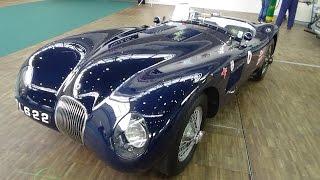 1951-1954 - Jaguar C-Type - Exterior and Interior - Classic Expo Salzburg 2015