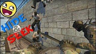 Counter-Strike Global Offensive ქართულად Hide and seek დამალობანა და ნიჭიერი 😀