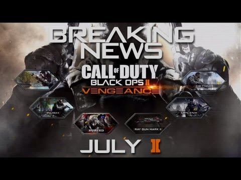 BO2 DLC #3: Vengeance CONFIRMED for July 2nd | Ray Gun Mark II Available on ALL BO2 Zombie Maps!