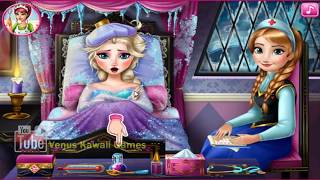 Frozen Online Games - Episode Elsa Flu Doctor - Disney Princess Games