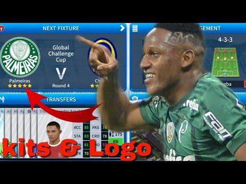 Dream Legaue Soccer 2019 | How To Make Palmeiras Team Kits & Logo 2019/2020 #1