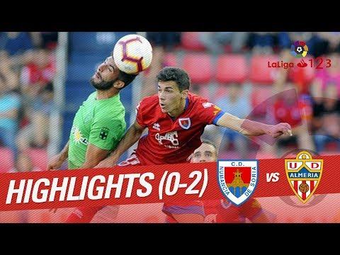 Resumen de CD Numancia vs UD Almería (0-2)