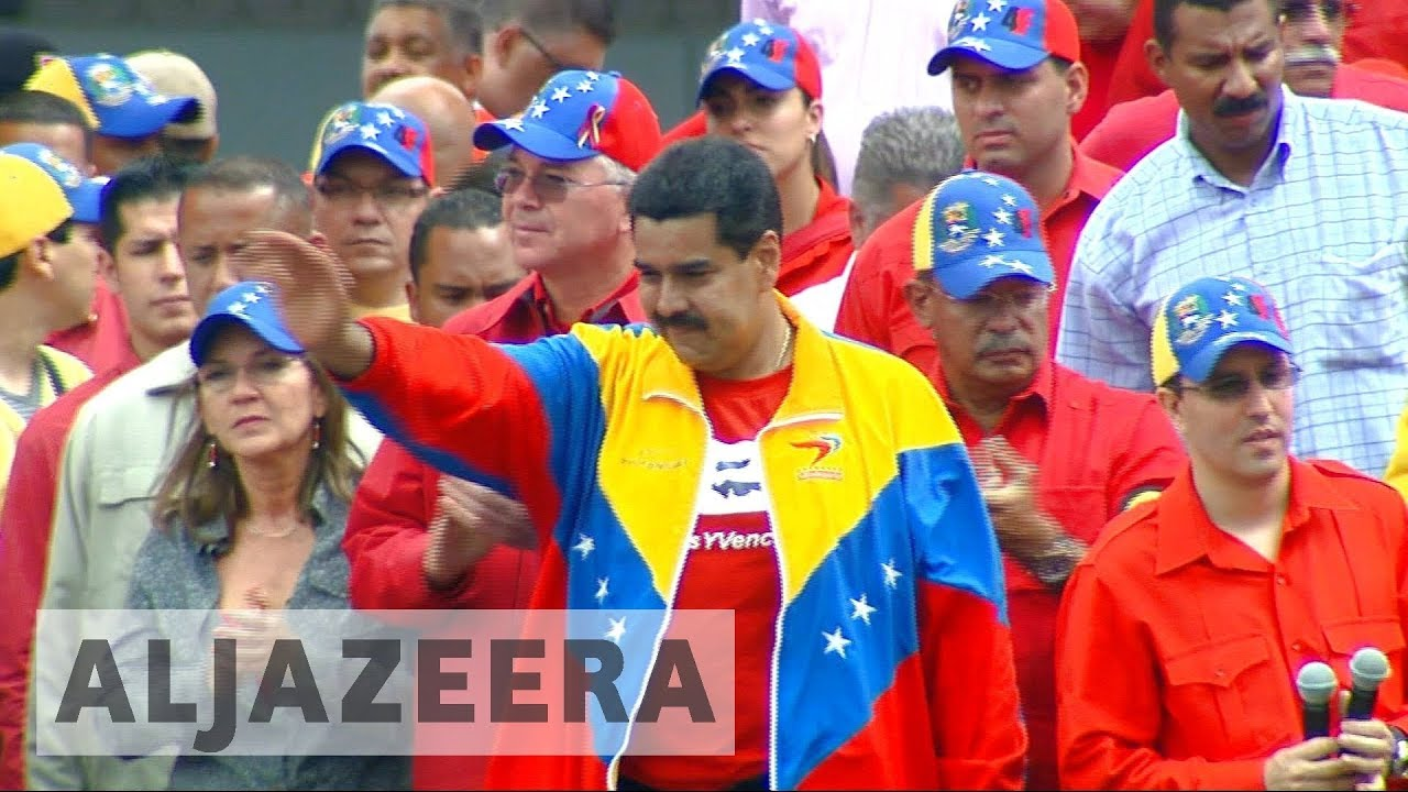 Maduro decries US sanctions against Venezuela