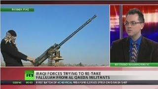 Iraqi, troops fight to regain control of key Anbar cities  1/8/14