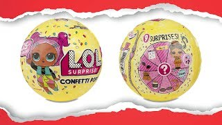 LOL Surprise Confetti Pop Series 3 Wave 1 Dolls Original | Шар ЛОЛ Конфетти Серия 3 Волна 1 Оригинал