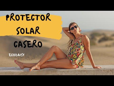 Prepara tu protector solar casero. DIY Homemade Sunblock. EcoDaisy.