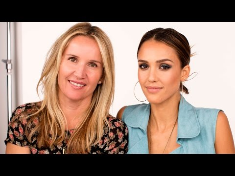Stunning Smoky Eyes with Jessica Alba and Celebrity Makeup Artist Monika Blunder