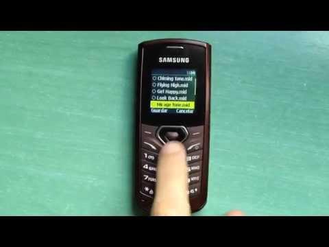 Samsung GT-E1170 review (ringtones. themes & games)