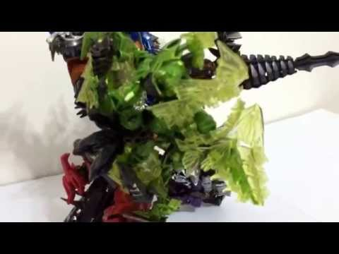 Transformers Age of Extinction AOE Dinobots Combined 'Ultimate Form' Unofficial Secret Mode