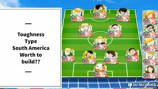 Toughness Type South America - Captain Tsubasa Dream Team