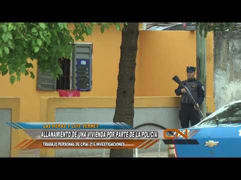 Un detenido y secuestro de armas en un allanamiento