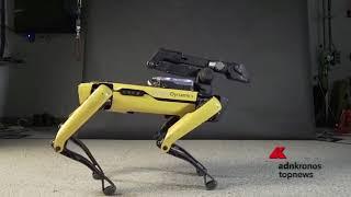 Download Lagu Il robot Spot balla sulle note di Bruno Mars Gratis STAFABAND