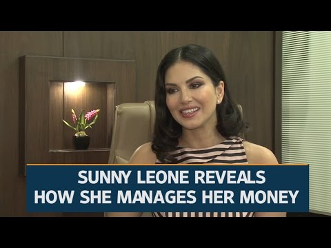 How Sunny Leone manages her money | Video