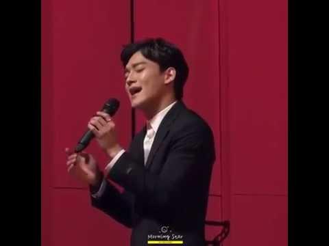 [LIVE] EXO Chen / Kim Jongdae 엑소 첸 / 김종대  Best Luck High Note
