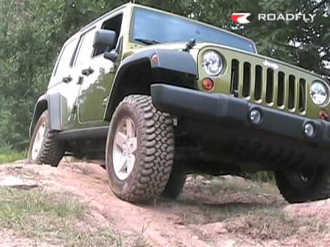 Roadfly.com - 2007 Jeep Wrangler Unlimited Rubicon Video