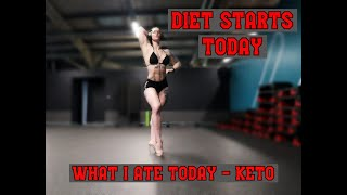 BodyBuilder Diaries | Diet Starts Today! | What I Ate Today - Keto