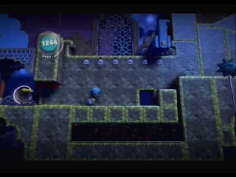 Little Big Planet (PS3) Gameplay Part 22 (The Temples - Great Magician
