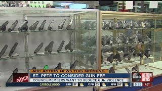 St. Pete Gun and ammo fee proposal