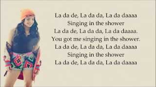 Becky G-Shower (Lyrics)