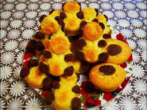 Бисквитное пирожное БАРНИ с ШОКОЛАДНОЙ начинкой Рецепт БАРНИ Готовим с ЛЮБОВЬЮ