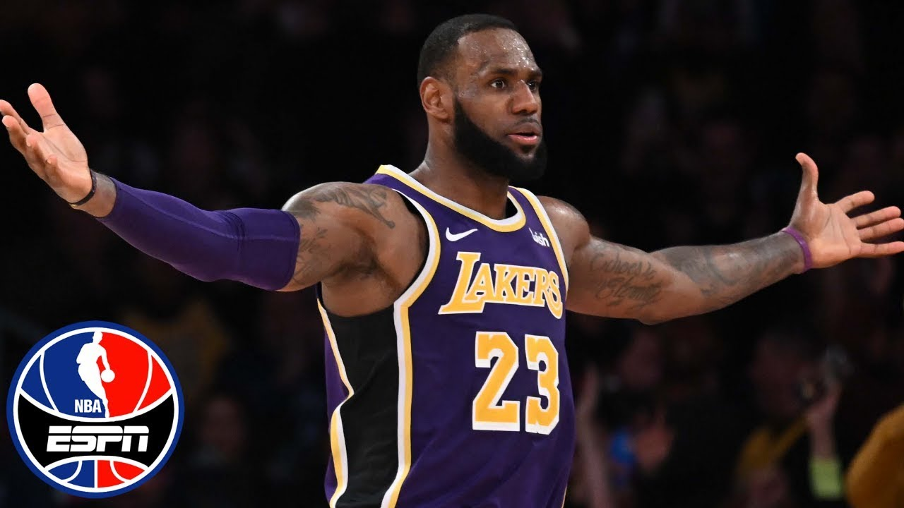 LeBron James' late takeover powers Lakers past Spurs | NBA Highlights