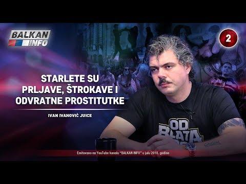 INTERVJU: Ivan Ivanović Đus - Starlete su prljave, štrokave i odvratne prostitutke! (15.07.2018)