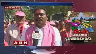 TRS Leader Sunke Ravishankar face to face over Election Campaign