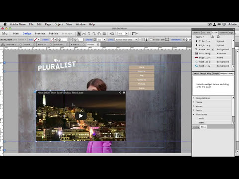 How To Get Started with Adobe Muse - 10 Things Beginners Want to Know How To Do