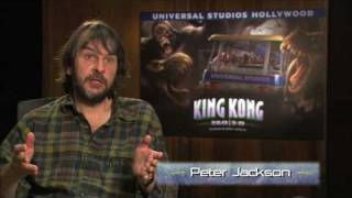 Peter Jackson interview about Universal Studios Hollywood