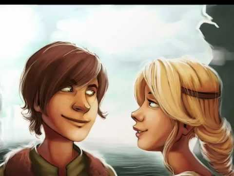 Hiccup and Astrid - Kiss Me