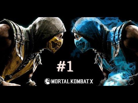 Mortal Kombat X - Bölüm 1 - Tuşlara Alışmam Lazım [Türkçe]