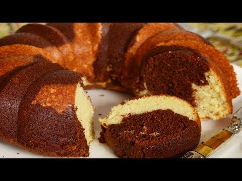 Marble Cake Recipe Demonstration - Joyofbaking.com