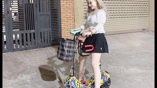 Xe điện gấp mini E-SCOOTER giá siêu rẻ dành cho Hotgirl | O96.441.7385 | FB.com/PANDA.eScooter