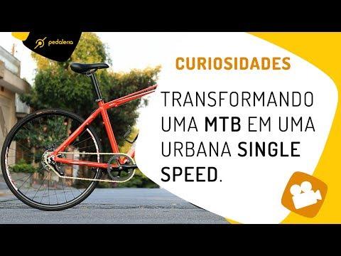 Como transformar uma MTB em uma urbana single speed? PEDALERIA