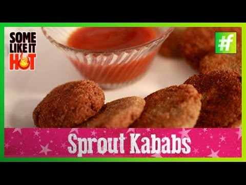 Healthy Sprout Kabab | Quick Recipe by The Magic Tiffin