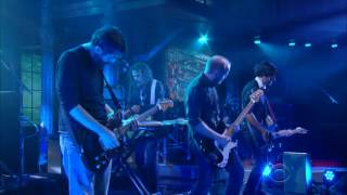 "Explosions in the Sky ""Disintegration Anxiety"" on The Late Show"