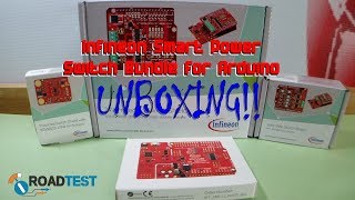 Infineon Smart Power Switch Bundle for Arduino - Unboxing