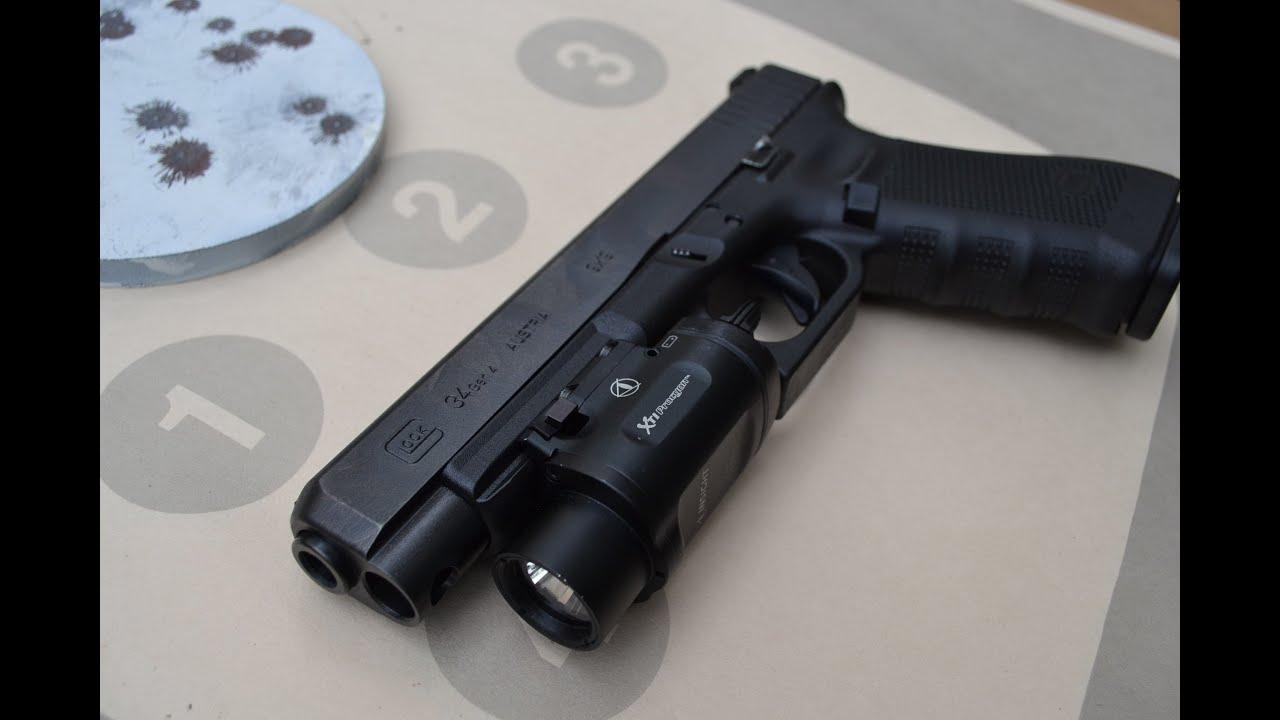 glock 34 gen 4 shooting review youtube