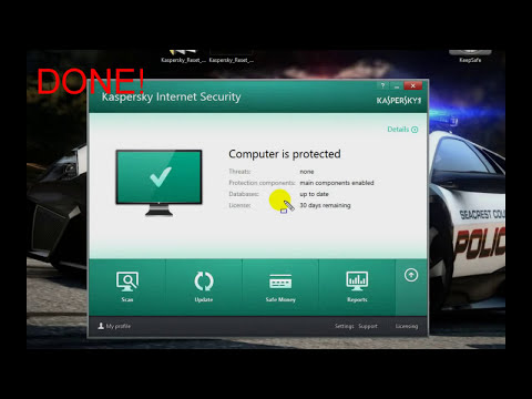 Kaspersky Internet Security 2014 Reset Trial