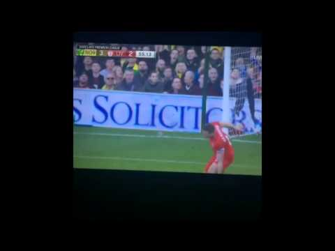 [Full HD] Henderson Goals Norwich City 3 - 2 Liverpool 23.01.2016