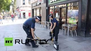 UK: Police lockdown Cardiff for NATO summit