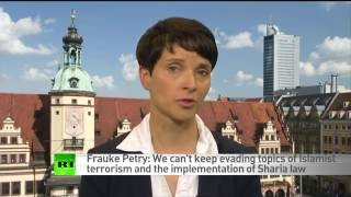 """Dr. Frauke Petry AfD """"Russia Should be a Priority Partner for Germany""""..."""