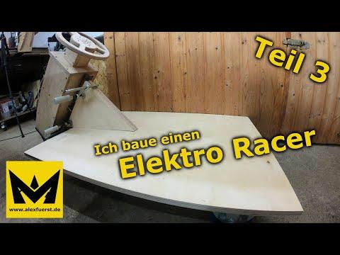 Ich baue einen Elektro Racer #3 - Nun kann man erahnen wie das Teil mal aussehen wird