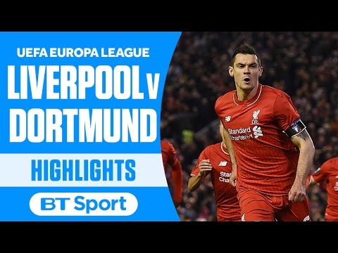 Liverpool 4-3 Borussia Dortmund (agg: 5-4) | UEFA Europa League | Goals and Highlights