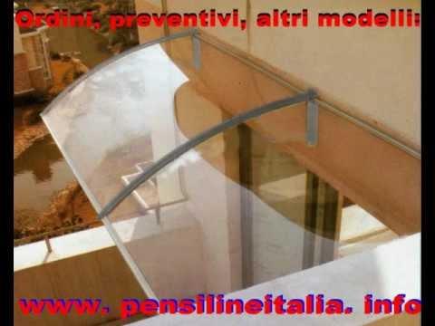 Pensilina tettoia copriporta coprifinestra in - Tettoie in legno leroy merlin ...