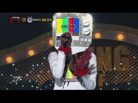 [King of masked singer] 복면가왕 - 'My color television' Identity! - Whale hunting 20151101