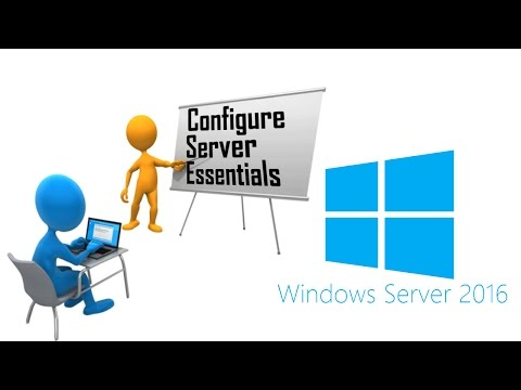 Microsoft Windows 2016 Server Lesson #6 - Configure Windows Server Essentials, Edit Group Policies