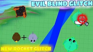 Mope.io new Rocket glitch with golden eagle ? ?Evil Blind glitch! That make players quit!! (???)??