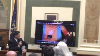 Jurors see video of crime scene WARNING: GRAPHIC